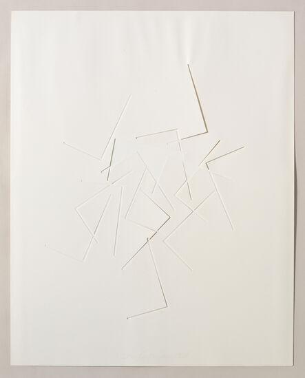 Stephen Antonakos, 'Untitled Cut, D#6', 1978