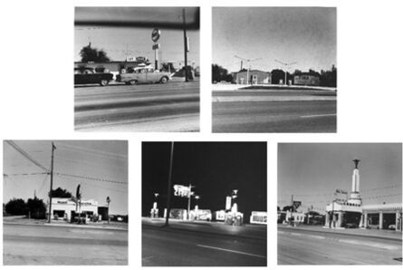Ed Ruscha, 'Five Views from the Panhandle, 1962–2007'
