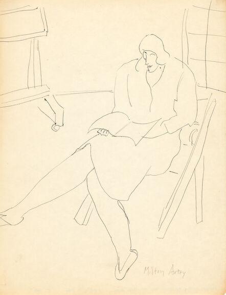 Milton Avery, 'March in the Studio', 1950