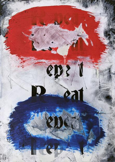 Zavier Ellis, 'Repeat (Repeat) II (Tricolour)', 2021