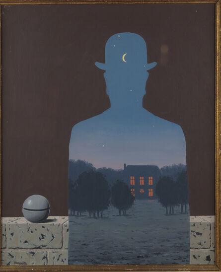 René Magritte, 'L'Heureux donateur', 1966