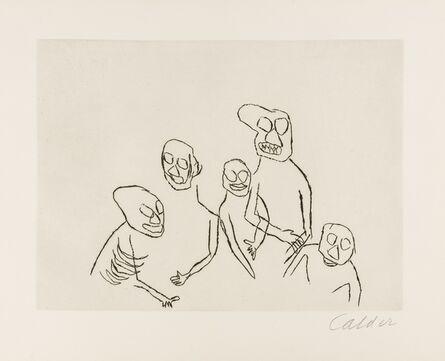 Alexander Calder, 'Santa Clause', 1974