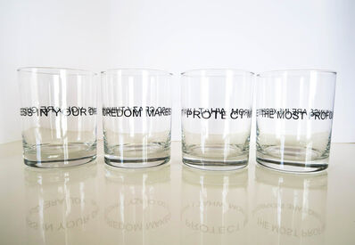 Jenny Holzer, 'Truisms Glasses', 1995