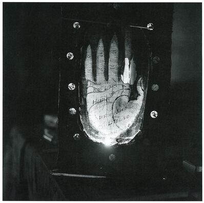 Kiyoji Ōtsuji, 'Shinjuku, Night / Moment the Sun does not know (Shinjuku, Yoru / Taiyou no Shiranai Toki)', 1952