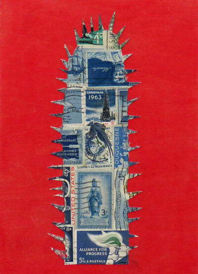Frederick Fulmer, 'Stamp Cactus Blue', 2017