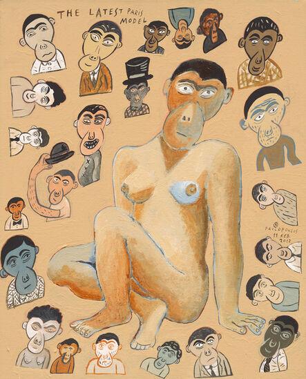 Tassos Pavlopoulos, 'The Latest Paris Model', 2012