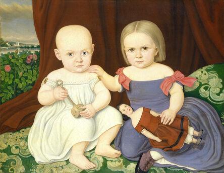 Lambert Sachs, 'The Herbert Children', 1857