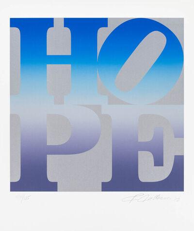 Robert Indiana, 'Four Seasons of Hope:  Winter (Silver)', 2012