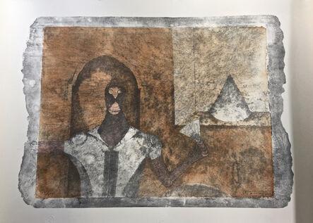 Rufino Tamayo, 'El Ermitano (The Hermit) from the 90th Anniversary suite (90 Aniversario)', 1989