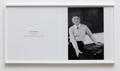 Lutz Bacher, 'Masters of Abstraction (Simon K. Donaldson) ', 2014
