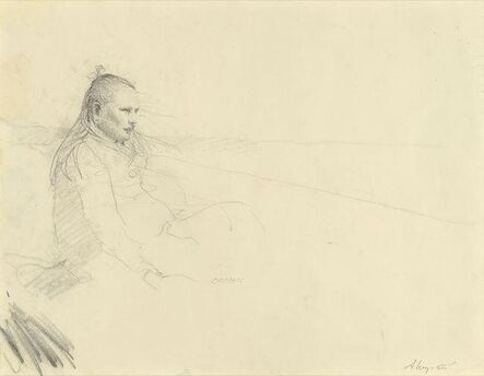 Andrew Wyeth, 'Her Daughter (Helga's Daughter)', 1971