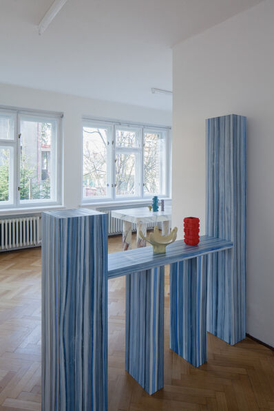 Laurent Dupont and Lucy McKenzie, 'Room Divider & 2 Prague Objects ', 2015