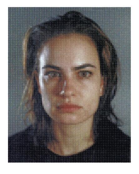 Chuck Close, 'Inka', 2012