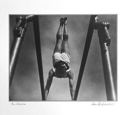 Leni Riefenstahl, 'Ann Barren', 1936