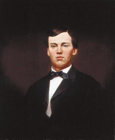 William Merritt Chase, 'Portrait of William Gurley Munson', date unknown