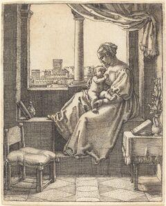 Barthel Beham, 'Virgin at the Window'