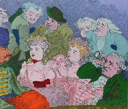Charlie Billingham, 'The Orange Muff', 2016