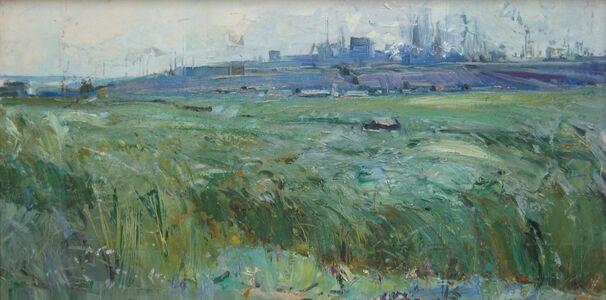 Aleksandr Nikiforovich Chervonenko, 'A windy day', 1968