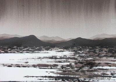 David Middlebrook, 'Desert Range and Rain', 2016-2017