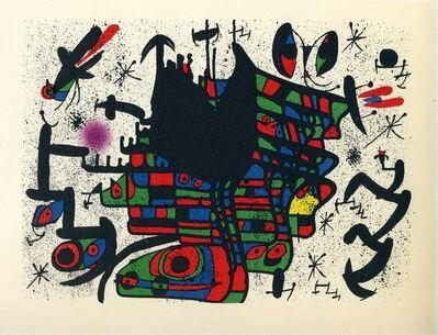Joan Miró, 'Homenatge a Joan Prats#13', 1971