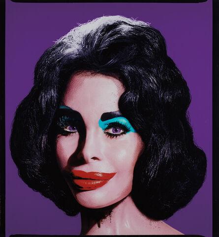 David LaChapelle, 'Amanda as Andy Warhol's Liz in Purple', 2007