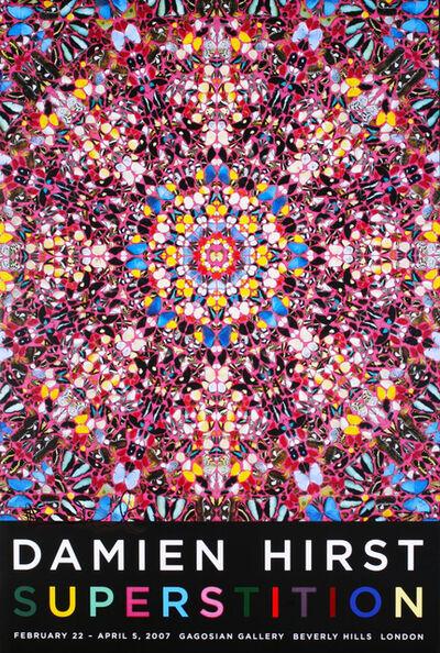 """Damien Hirst, '""""Superstition"""" Signed Poster', 2007"""