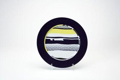 Roy Lichtenstein, 'Rosenthal plate 1', 2000
