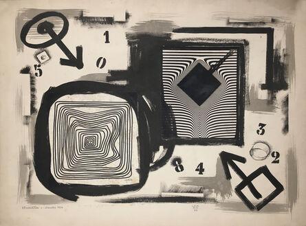 Jorge Lezama, 'Recordación 1', 1963