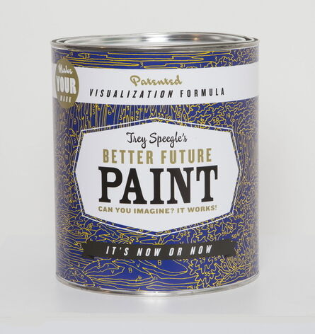Trey Speegle, 'Better Future Paint (blue)', 2013