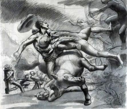 Nicola Verlato, 'Study for Battle #1', 2015