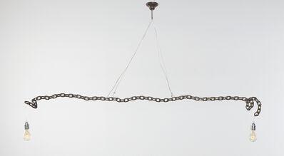 Franz West, 'Untitled (Hanging Lamp)', 1991