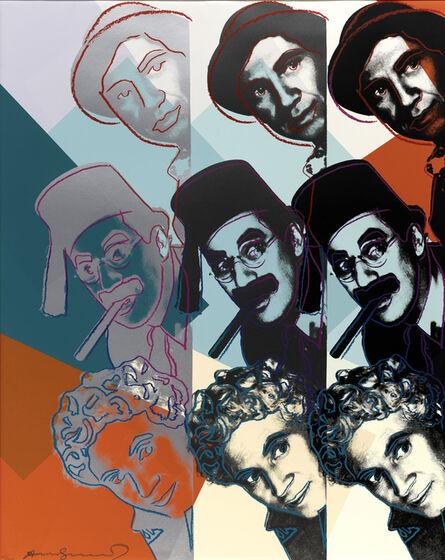 Andy Warhol, 'Marx Brothers, from Ten Portraits of Jews of the Twentieth Century (Feldman & Schellmann II.232)', 1980