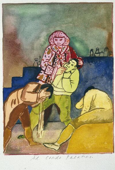 Fay Jones, ' Los Caprichos, (#33 Al Conde Palatino)', 2000