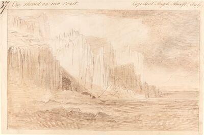 Edward Lear, 'Capo Sant'Angelo, Amalfi', ca. 1885