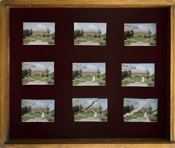 Nicolas Grospierre, 'Collection of an ageing postcard', 2009