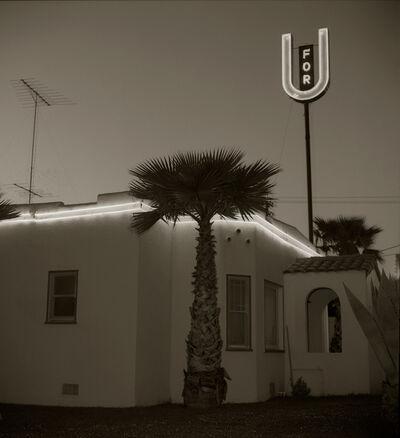 Steve Fitch, 'Motel, Highway 101, Santa Rosa, California', 1976
