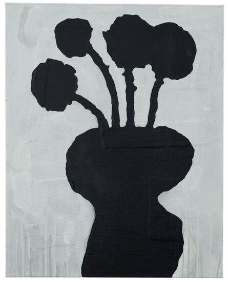Donald Baechler, 'Black Flowers', 2021
