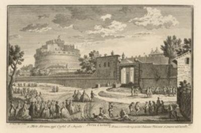 Giuseppe Vasi, 'Porta Castello', 1747