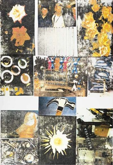 Robert Rauschenberg, 'Charms Against Harms', 1993