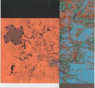 Alan Steele, 'Untitled blue and orange', 2013