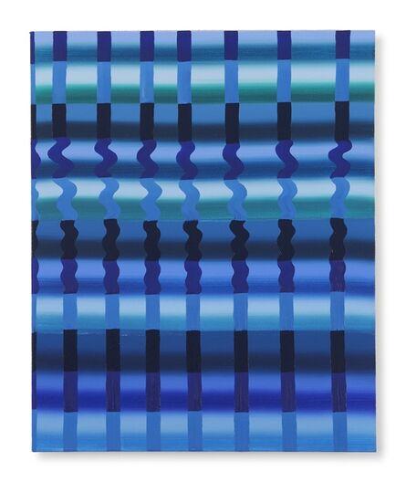 Beverly Acha, 'Untitled (Blue Grid)', 2017