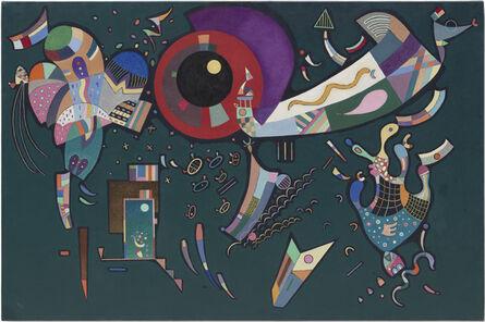 Wassily Kandinsky, 'Around the circle (Autour du cercle)', 1940