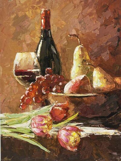 Elena Bond, 'Afternoon Refreshment by Elena Bond (Decorative Framed Fine Art)', N/A