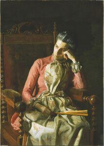 Thomas Eakins, 'Miss Amelia Van Buren', ca. 1891