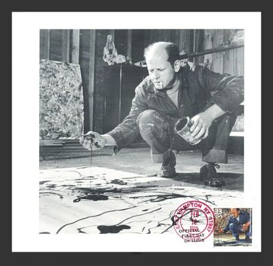 Jackson Pollock, 'Exclusive invitation with first day cover  ', 1999
