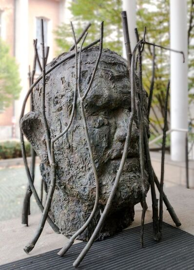Jim Dine, 'Jim's Head with Branches', 2018