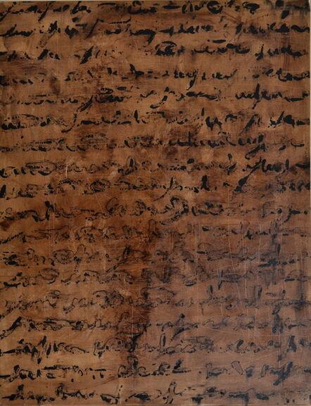 Alfredo Rapetti Mogol, 'Scrittura', 2013
