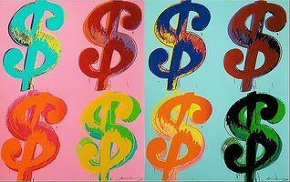 Andy Warhol, '$ (4)', 1982