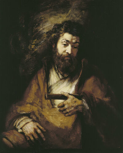 Rembrandt van Rijn, 'The Apostle Simon', 1661