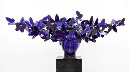 Manolo Valdés, 'Mariposas Azules', 2018